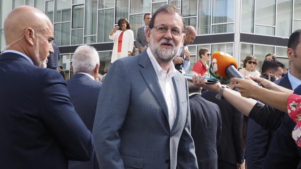 Mariano Rajoy, en Chantada