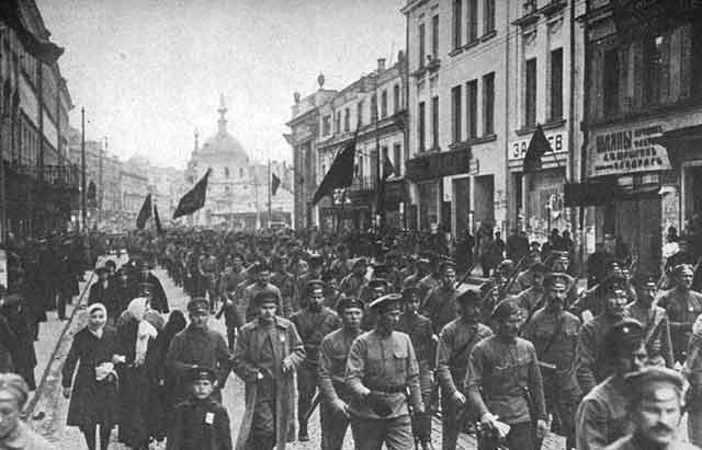 Revolución rusa de 1917.