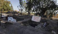 Excavaciones en el lugar que sería Julias, antigua ciudad romana edificada sobre Betsadia