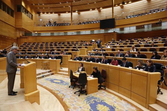 Senado español.