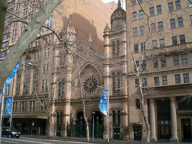 Gran Sinagoga de Australia
