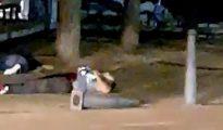 Yihadistas abatidos en Cambrils por un legionario español.