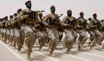 Tropas del ejército de Arabia Saudita.