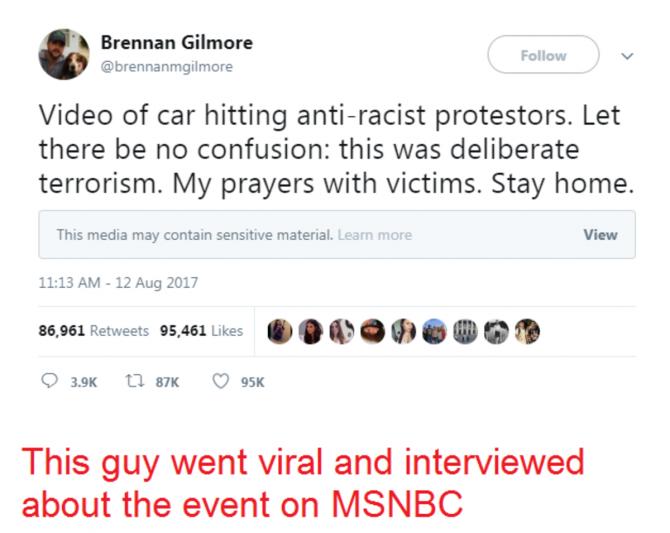 Twitter de Gilmore