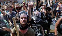Radicales de izquierda en Charlottesville (Virginia)