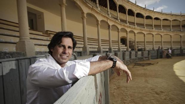 Francisco Rivera, en la plaza de Ronda
