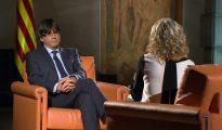 Carles Puigdemont en TV3 (CCMM)