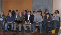 Los 13 procesados del «caso Marea», entre ellos el exconcejero socialista José Luis Iglesias Riopedre, acusados de participar en una trama de adjudicación de contratos públicos.