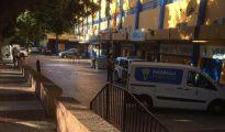 La operación policial se está desarrollando en el Estadio Municipal de Marbella