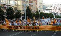 """Manifestación en Zaragoza contra el """"catalán de Aragón"""""""