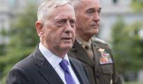El secretario de defensa norteamericano, James Mattis, dio una conferencia de prensa sobre la situación de Corea del Norte