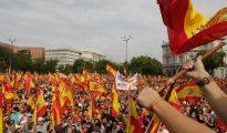 Imagen de la manifestación en Valencia (OK Diario)