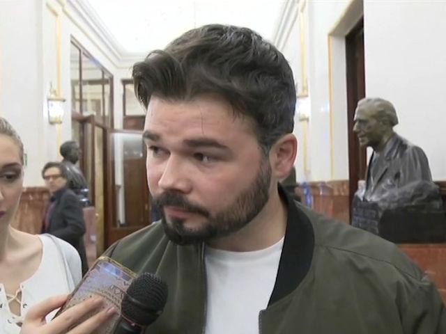 Gabriel Rufián, para muchos el perfrecto prototipo de gilipollas.,
