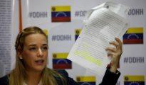 Lilian Tintori, esposa del opositor venezolano Leopoldo López