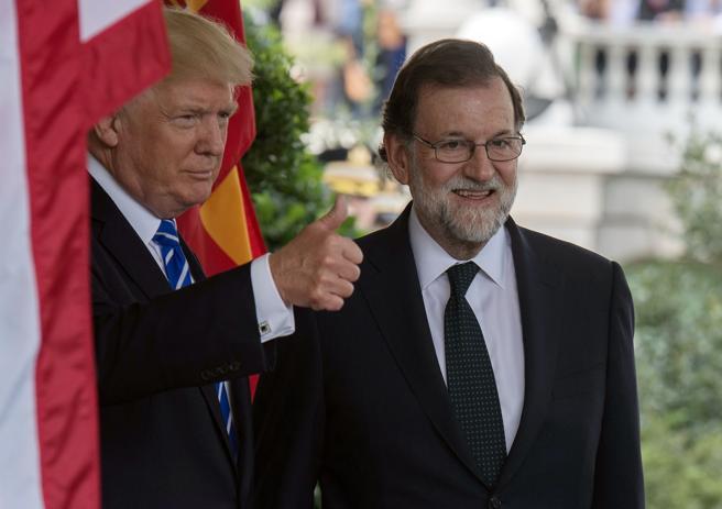 Trump y Rajoy, en la Casa Blanca