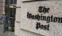 Sede del rotativo estadounidense The Washington Post en Washington, capital de Estados Unidos.