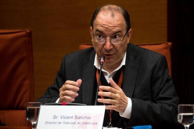 El director de TV3, Vicent Sanchis