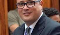 Imagen del perfil de Twitter del concejal del PSOE Zebenzuí González Leer más: Apartado del gobierno de La Laguna el concejal que se jactaba de enchufar a empleadas por sexo
