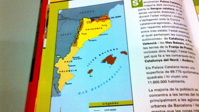 El odio a España en los libros de texto catalanes