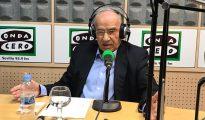 Alfonso Guerra, en su intervención en Onda Cero (Onda Cero)