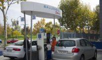 Estación de servicio de Ballenoil en Madrid