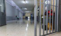 Interior de la cárcel de Brians, en Sant Esteve de Sesrovires.