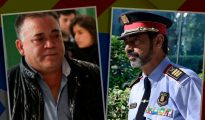 El narcotraficante Manuel Gutiérrez Carbajo y el mayor de los Mossos Josep Lluis Trapero (OK Diario)