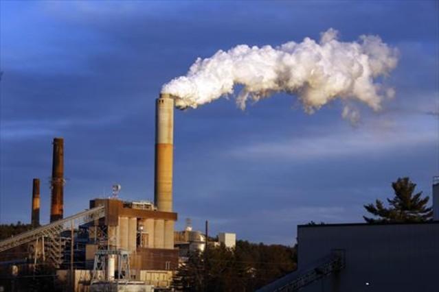Una central térmica alimentada con carbón en el estado de New Hampshire.