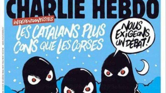 """Imagen de la portada de """"Charlie Hebdo"""""""