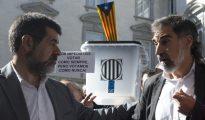 Jordi Sànchez y Jordi Cuixart
