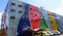Hospital de Mondragón, donde trabajaba la empleada.