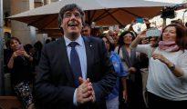 Puigdemont, este fin de semana en Gerona