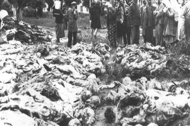 Víctimas de una de las purgas de Stalin.