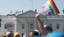 Manifestación en la Casa Blanca