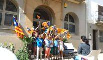 Adoctrinamiento de niños catalanes.