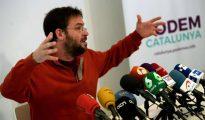 El exsecretario general de Podem Cataluña, Albano-Dante Fachin.