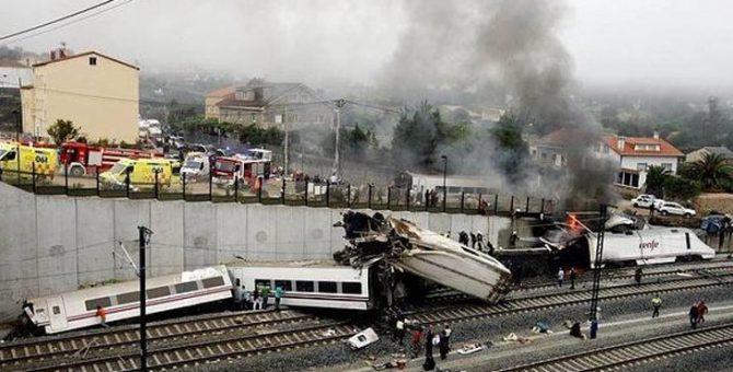 Accidente del Alvia en Santiago de Compostela.