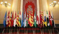 Las banderas de las distintas comunidades autónomas.