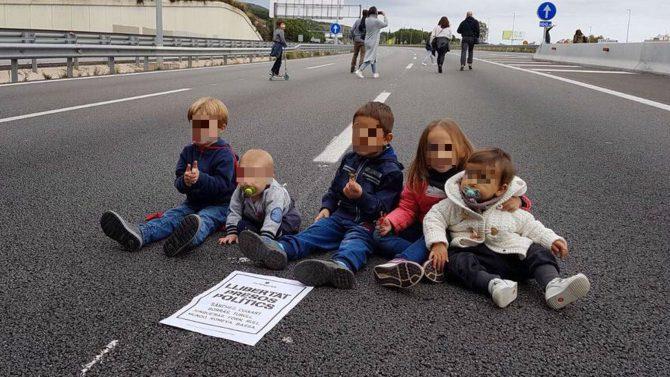 Tramo de la carretera C-32 a la altura de Mataró (Barcelona)- Imagen: El Español