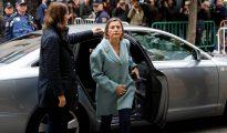 Carmen Forcadell, a su llegada al Tribunal Supremo.