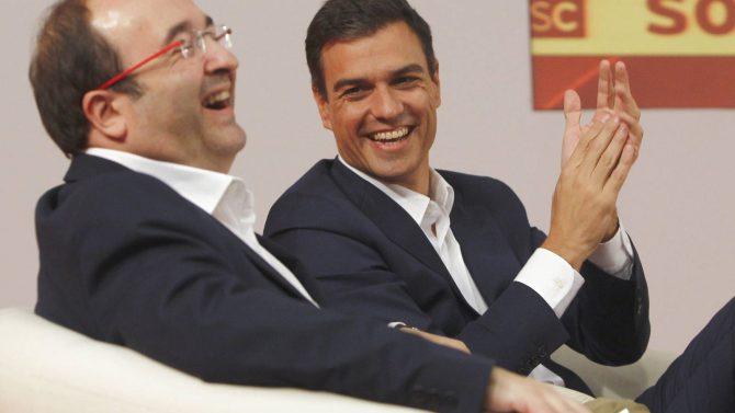 Iceta y Sánchez.
