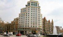Edificio de apartamentos de lujo en el Paseo de Gracia/ Foto: Expansión