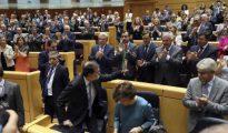 Pleno extraordinario del Senado convocado para aprobar las propuestas planteadas por el Gobierno para actuar contra la Generalitat de Cataluña al amparo del artículo 155 de la Constitución.