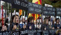 Manifestación del sábado en Barcelona.