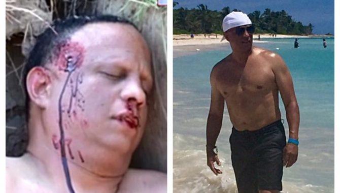 Fotografías publicadas por Ramón Sosa de su asesinato fingido | Facebook