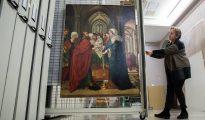 La tabla de Sijena llega al Museo de Zaragoza