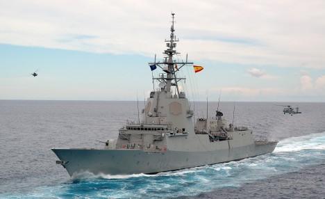 La fragata Almirante Juan de Borbón / ARMADA ESPAÑOLA