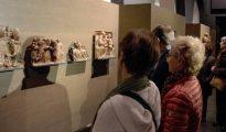 Obras de Sijena expuestas en el Museo de Lérida.