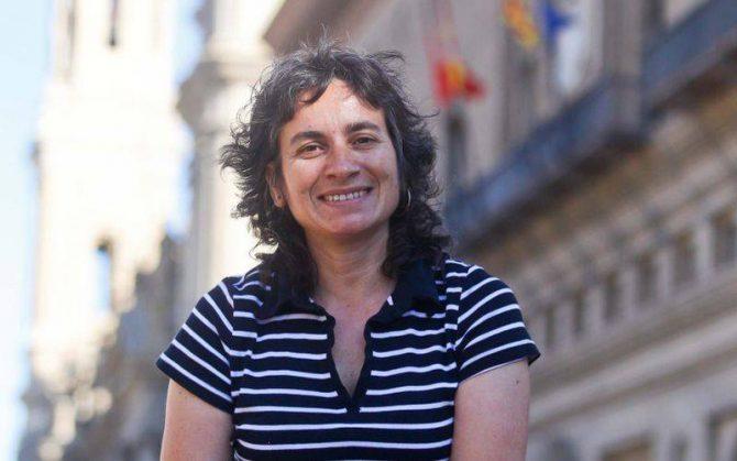 La vicealcaldesa y concejal de Derechos Sociales, Luisa Broto