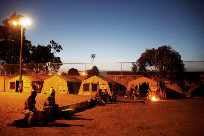 Los campamentos en Boa Vista están llenos de venezolanos